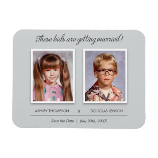 Old Photo Wedding Save the Date Magnet