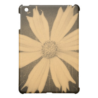 Old photo Yellow Cosmos Flower Close-up iPad Mini Covers