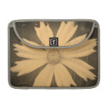 Old photo Yellow Cosmos Flower Close-up Sleeves For MacBook Pro