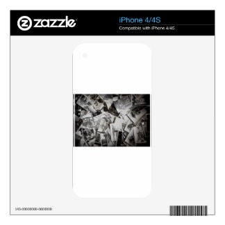 Old photos. skin for the iPhone 4S
