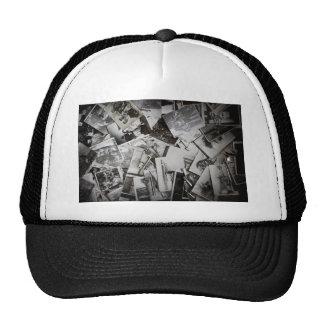 Old photos. trucker hat