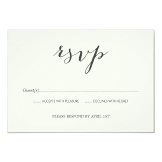 Old Photos Wedding RSVP card