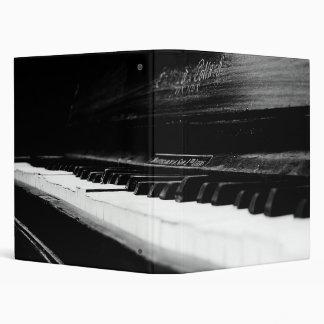 Old Piano Vinyl Binder