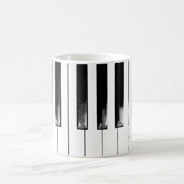 tianxinzheng Old Piano Keys Coffee Mug
