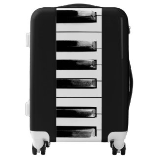 Old Piano Keys Cool Fun Luggage
