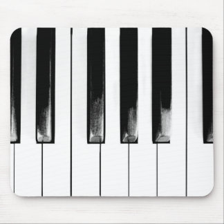 Old Piano Keys Funny Cool Mouse Pad
