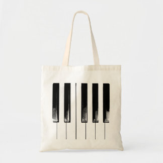 Old Piano Keys Funny Cool Tote Bag