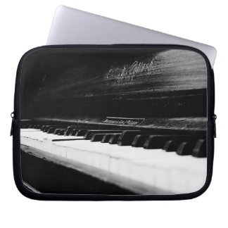 Old Piano Laptop Computer Sleeve