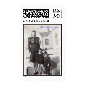 old pictures - Mom, Ed and Avis Postage