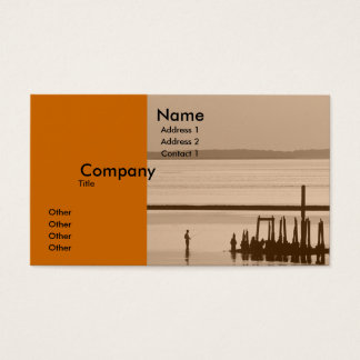 Old Pier Business Card