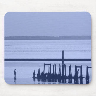 Old Pier Mouse Pad