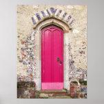 Old Pink Door Poster