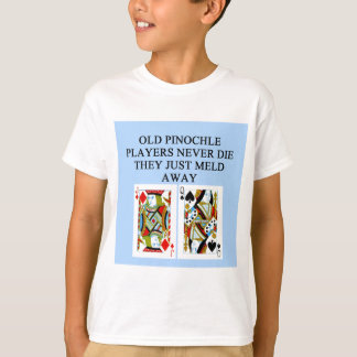 old pinochle player T-Shirt