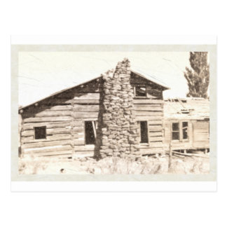 Old Pioneer House Post Cards