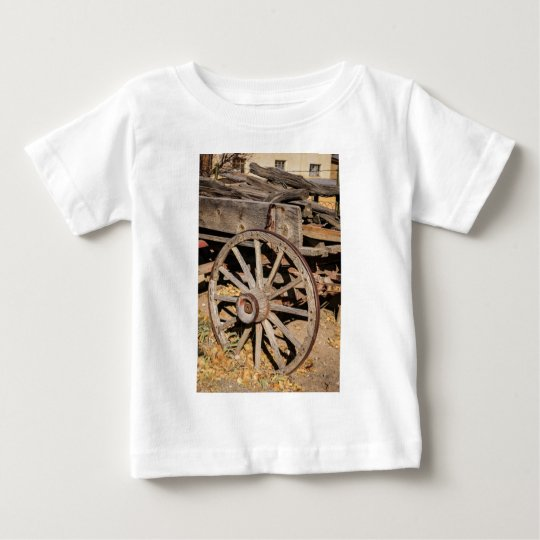Old Pioneer's Wooden wagon in New Mexico Baby T-Shirt
