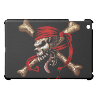Old Pirate Skull iPad Case