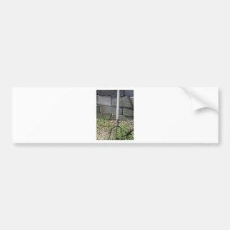Old pitchfork bumper sticker