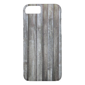 Old plank barn wall iPhone 8/7 case