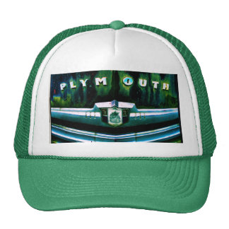 Old plymouth trucker hat