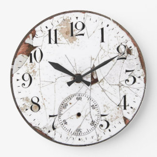 Old Pocket Watch Wall Clock
