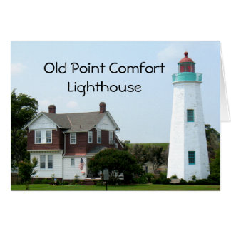 Old Point Comfort  Lighthouse Card