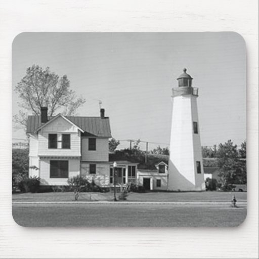 Old Point Comfort Lighthouse Mousepads