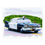 Old_police_car Plymouth Post Cards