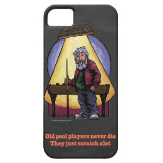 Old Pool players iPhone 5 Cover