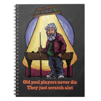 Old Pool players Journals