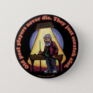 Old Pool players Pinback Button