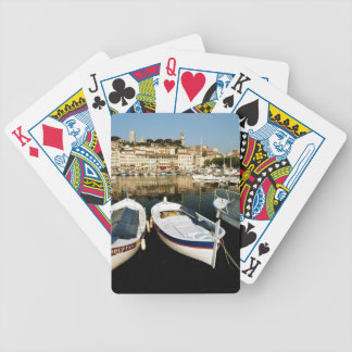 Old port bicycle playing cards