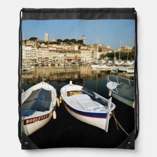 Old port drawstring bag