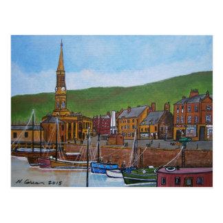 Old Port  Glasgow Harbour Postcard