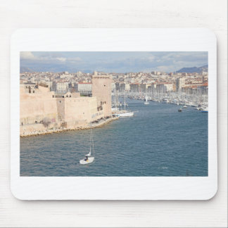 Old port of Marseilles Mouse Pad