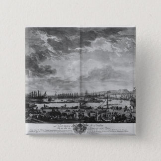 Old Port of Toulon Pinback Button