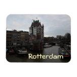 Old Port, Rotterdam Rectangular Photo Magnet