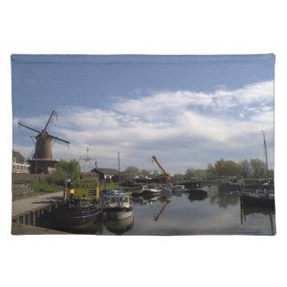 Old Port, Wijk bij Duurstede Cloth Placemat