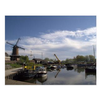 Old Port, Wijk bij Duurstede Postcard