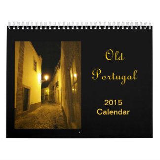Old Portugal 2015 Calendar