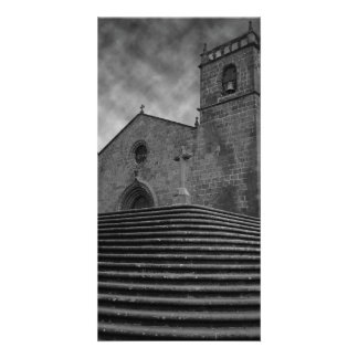 Old portuguese church card