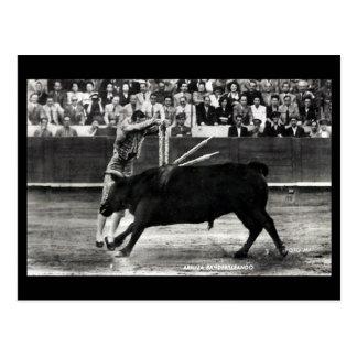 Old Postcard - A Bullfight