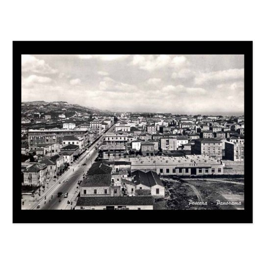 Old Postcard - A View of Pescara