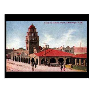 Old Postcard - Albuquerque, New Mexico, USA