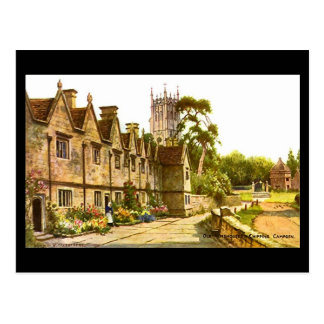 Old Postcard - Almshouses, Chipping Campden
