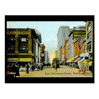 Old Postcard - Baltimore, Maryland, USA