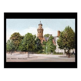 Old Postcard - Banbury Church