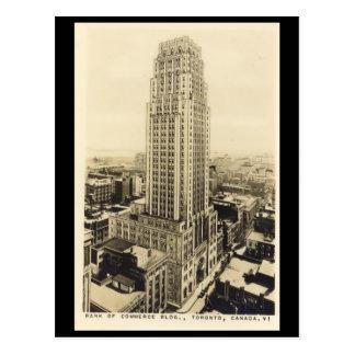 Old Postcard - Bank of Commerce Building, Toronto