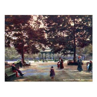 Old Postcard - Battersea Park, London