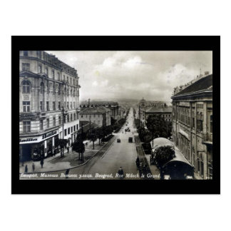 Old Postcard - Belgrade 1928