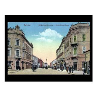 Old Postcard - Belgrade in 1920